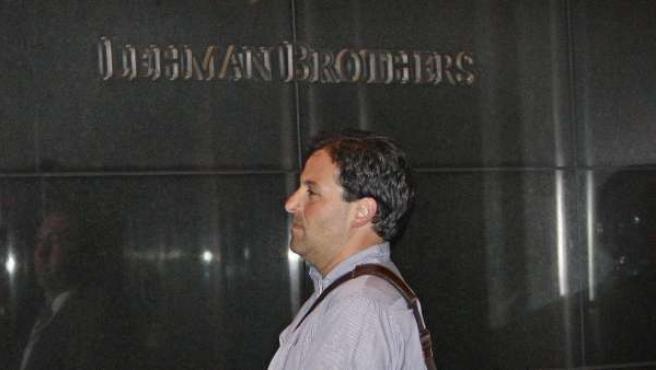 Una foto de archivo de una sede del banco Lehman Brothers.