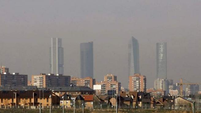 El cielo de Madrid, en una imagen de archivo.