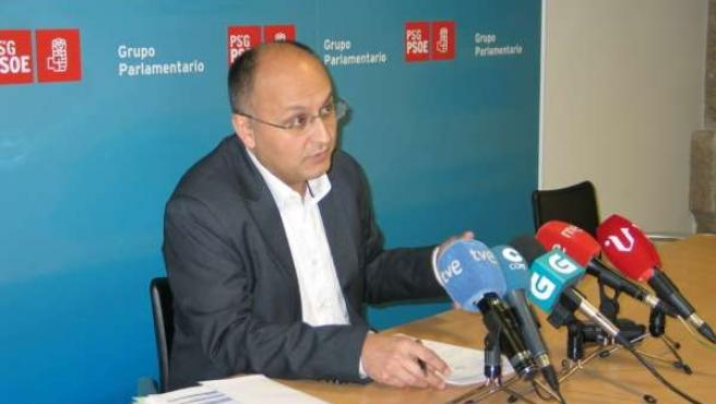Abel Losada, portavoz del Grupo Parlamentario del PSdeG