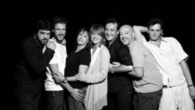 Actores de la obra 'La Avería', que pasará por el Teatro Gayarre el 11 y 12 de f