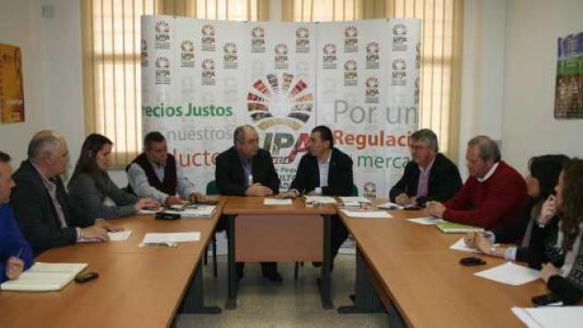 Reunión de UGT-A y UPA-A