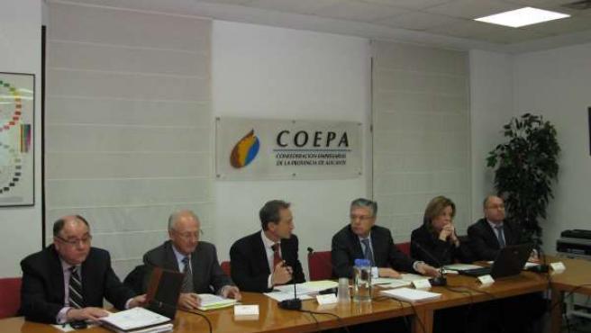 Representantes de COEPA y CAM analizan el proceso de integración en el SIP.