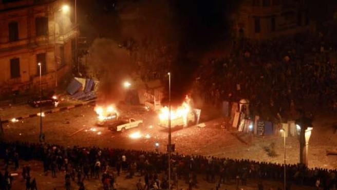 Los disturbios continúan en Egipto.