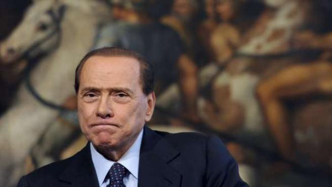 Fotografía de archivo del 21 de mayo de 2010 del primer ministro italiano, Silvio Berlusconi.