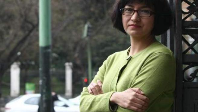 Rosa Icela Pérez vive en el exilio por las amenazas de muerte recibidas por sus artículos sobre Ciudad Juárez.