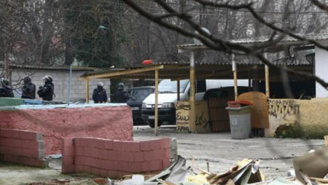 Imagen del poblado chabolista de Puerta de Hierro (Madrid).