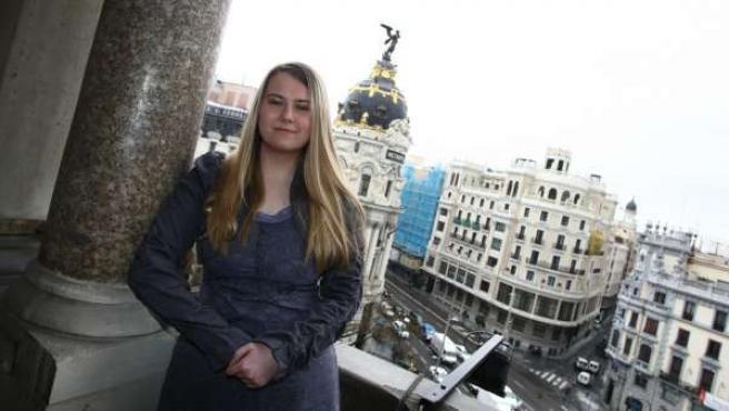 Natascha Kampusch, en Madrid.