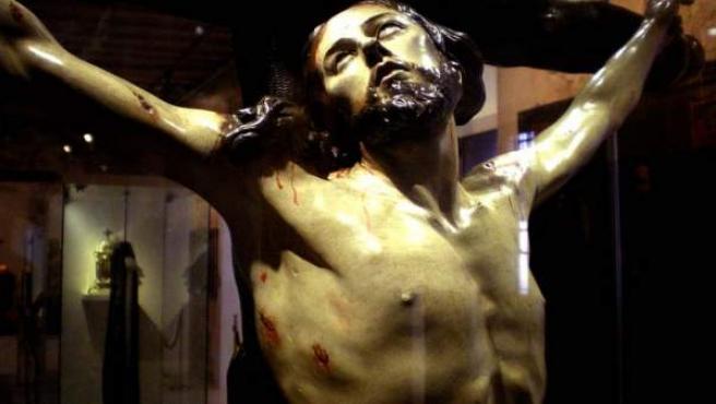 Un Cristo del escultor murciano.