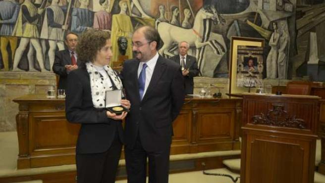 El presidente de la DPZ ha entregado la Medalla de Oro de la IFC
