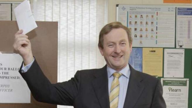 El primer ministro irlandés Enda Kenny.