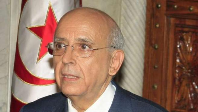 El ex primer ministro tunecino, Mohamed Ghanuchi.