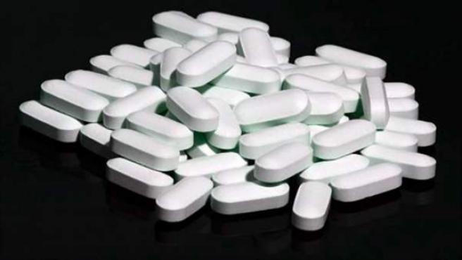 Píldoras de ibuprofeno.
