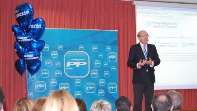 Pedro Rodríguez, en la presentación de la nueva herramienta de participación ciu