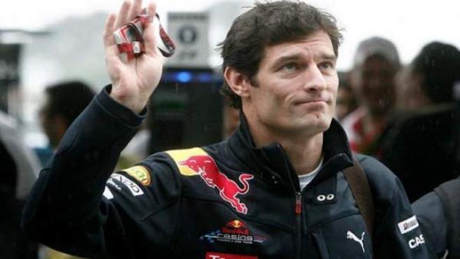 Mark Webber, piloto de Red Bull, en una imagen de archivo.