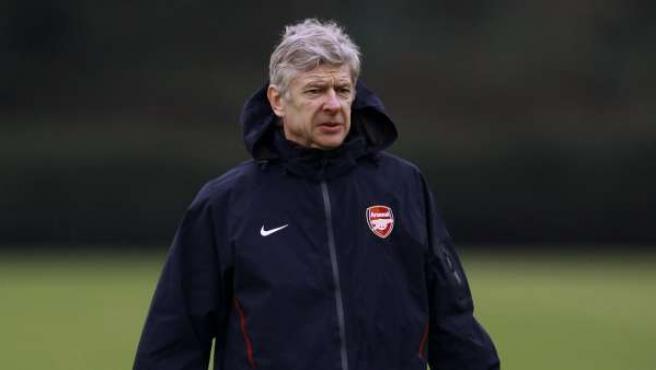 Wenger, entrenador del Arsenal.