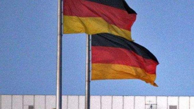 Bandera alemana.