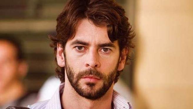 Eduardo Noriega, en una imagen de la película En el punto de mira.
