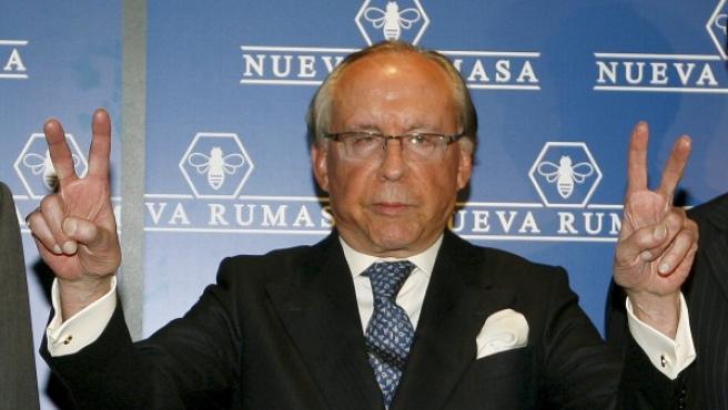 El patriarca de Nueva Rumasa, José María Ruiz Mateos.