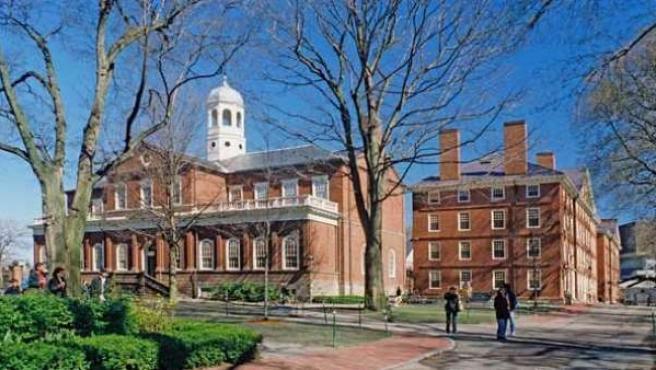 Imagen de archivo de la Universidad de Harvard, en EE UU.