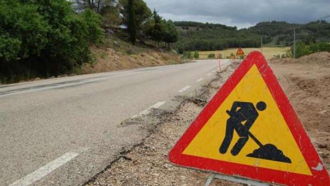 Una carretera en Obras