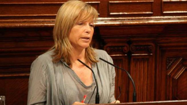 La vicepresidenta del Govern, Joana Ortega, en una imagen de archivo.