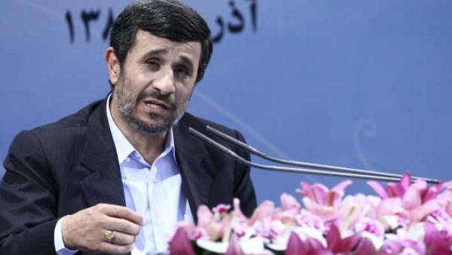 El presidente iraní Mahmud Ahmadineyad