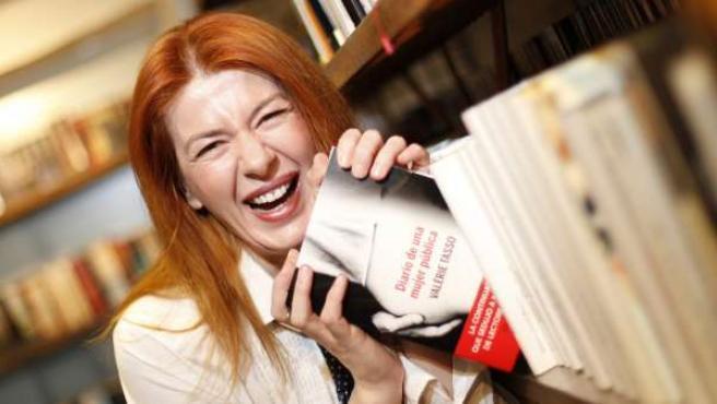 Valérie Tasso, autora de 'Diario de una ninfómana' y 'Diario de una mujer pública'.