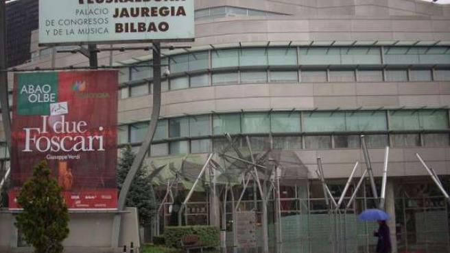 Fachada del Palacio de Euskalduna