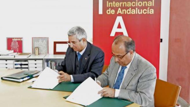 El rector de la UNIA, Suárez Japón, y rector de universidad marroquí firman hoy