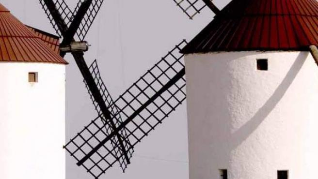 Los molinos que inmortalizara Cervantes.