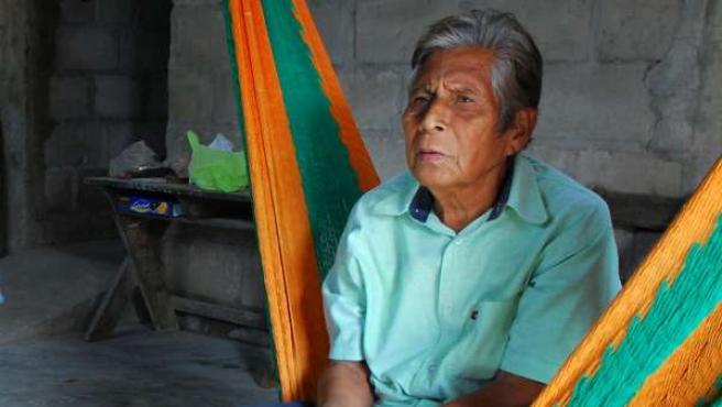Manuel Segovia Jiménez, uno de los dos hablantes del dialecto Ayapaneco.