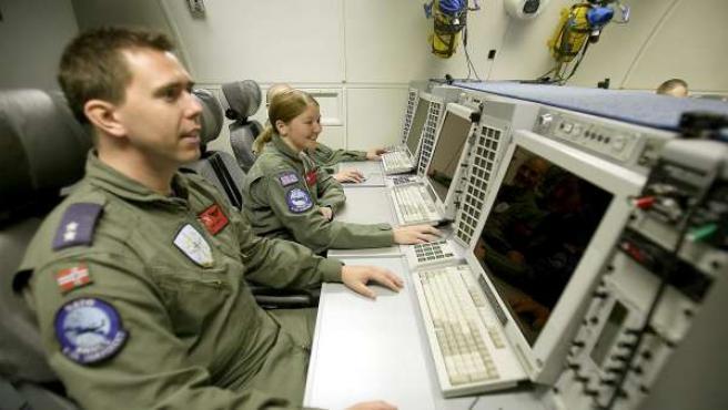 Soldados de la OTAN.