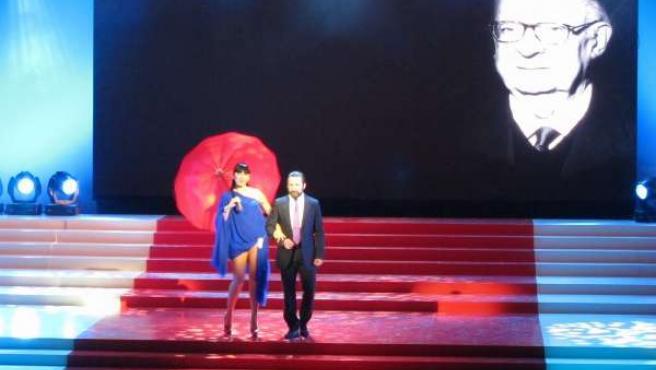 Rossy de Palma y Antonio de la Torre en la gala inaugural del XIV Festival de Má