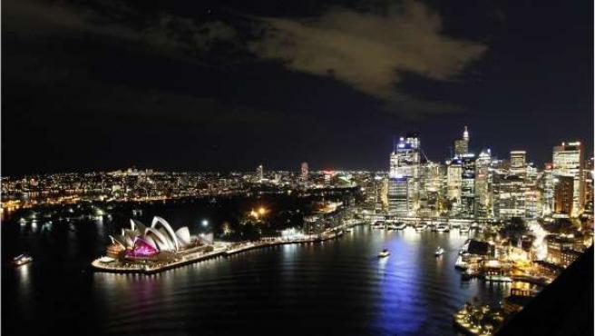 Vista parcial de la ciudad de Sydney.
