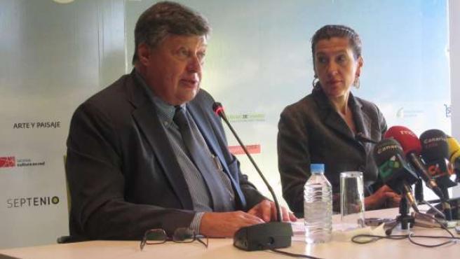 Alberto Delgado y Milagros Luis Brito