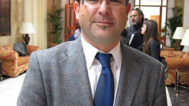 El delegado de Cultura la Junta en Córdoba, Joaquín Dobladez
