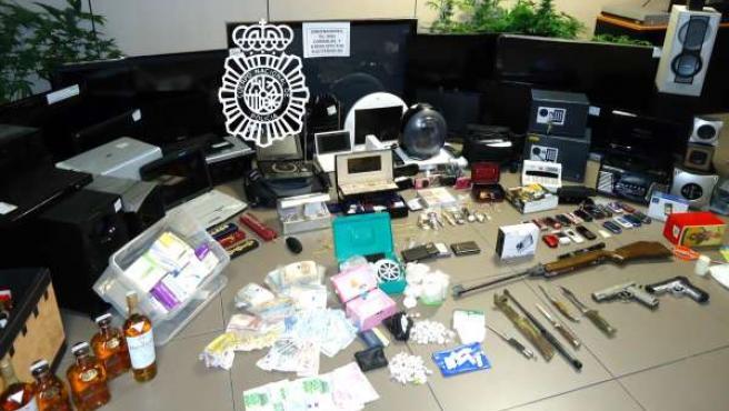 Desarticulada red de venta de droga en Castellón