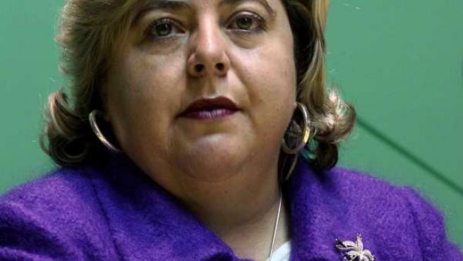 La consejera de Agricultura y Pesca, Clara Aguilera.