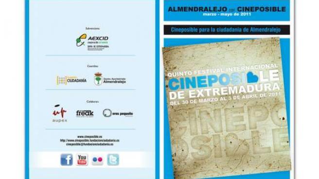 Cartelería de CinePosible2011