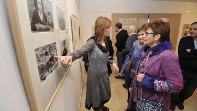 Inauguración de la sala de exposiciones de Tardienta