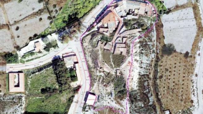 Proyección de la rehabilitación del barrio de la Cruz de Albudeite