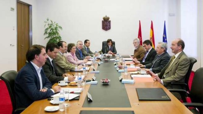 La Mesa y Junta del Parlamento de Navarra