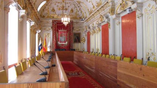 Salón de Plenos de las Casas Consistoriales de Las Palmas de Gran Canaria