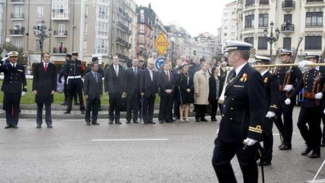 Desfile Armada en Santander.