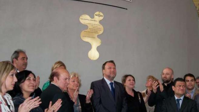 Alfredo Sánchez Monteseirín junto a otros miembros del equipo de Gobierno de Sev