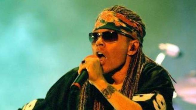 Axl Rose, líder de la banda Guns N´Rose.