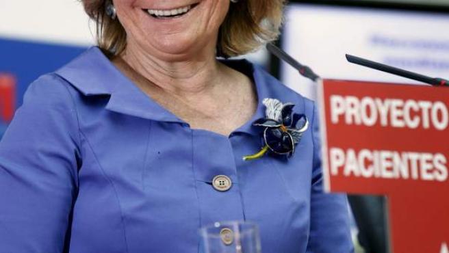 La presidenta de la Comunidad de Madrid, Esperanza Aguirre.