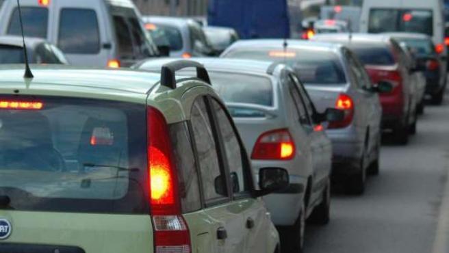 Retenciones de tráfico en Toledo