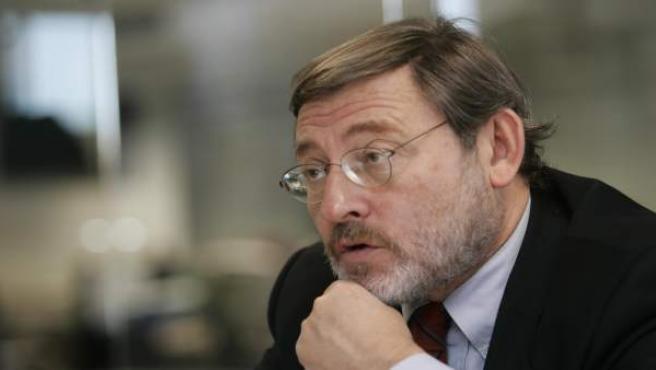 El portavoz socialista en el Ayuntamiento de Madrid, Jaime Lissavetzky.