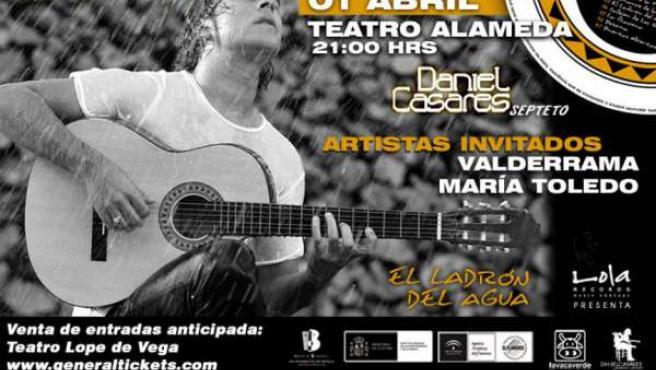 El guitarrista Daniel Casares ofrece un concierto este viernes en el Teatro Alam